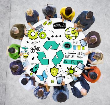A reutilização é uma das maneiras de promover a sustentabilidade na sociedade