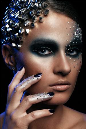 Você sabia que é possível fazer seu cabelo virar diamante?