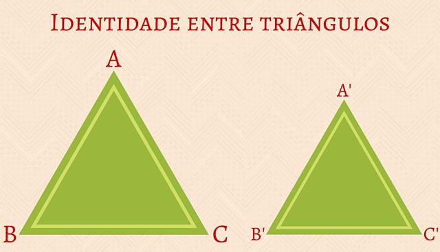 Na determinação da identidade entre triângulos estabelecemos o Teorema Fundamental da Semelhança