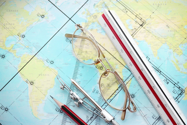 As escalas são importantes elementos cartográficos
