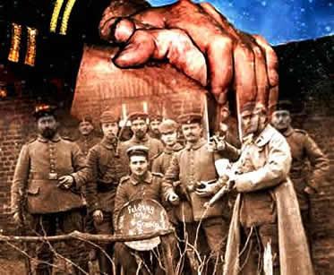 Em várias ocasiões, o ódio nacionalista foi ignorado por simples combatentes que participaram da Primeira Guerra.