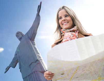O Brasil detém um enorme potencial turístico em virtude das belas paisagens que possui.