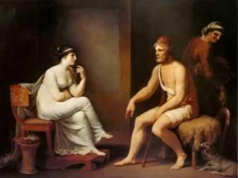 Odisseu e Penélope