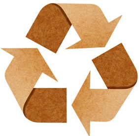 A reciclagem de papel diminui o volume de lixo e ajuda na preservação de recursos naturais