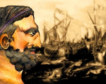 Amílcar Barca liderou as tropas cartaginesas contra os romanos.