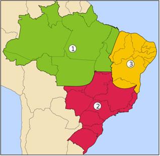 As regiões Geoeconômicas do Brasil¹