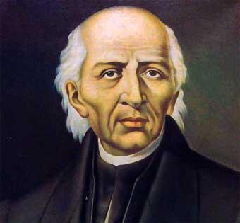 Hidalgo, primeiro defensor da independência mexicana.