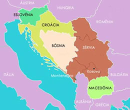 Região dos Bálcãs