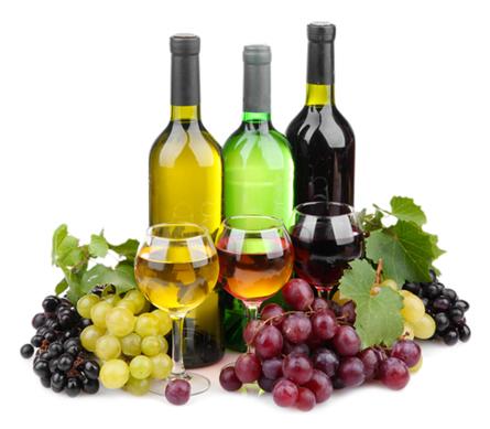 A qualidade do vinho depende do tipo de uva utilizado em sua produção