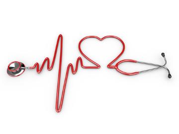 O médico pode perceber um sopro cardíaco utilizando um estetoscópio