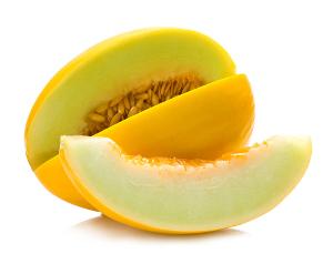 Melão é o fruto produzido pelo meloeiro