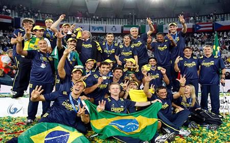 O vôlei é um dos esportes no qual o Brasil se destaca nos Jogos Olímpicos.