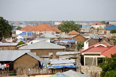 Vista da cidade de Juba, capital do Sudão do Sul, um dos Estados Falidos da atualidade