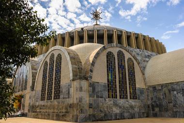 O reino de Axum se notabilizou por se tornar um reino cristão na África e por fazer grandes edificações religiosas