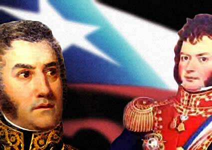 O processo de independência do Chile foi capitaneado por uma elite influenciada pelo iluminismo.