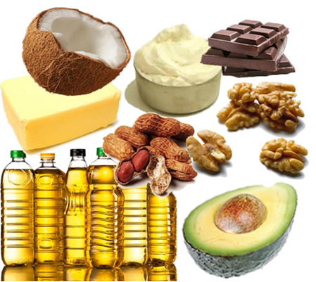 Os alimentos apresentados na foto acima são fontes de lipídios