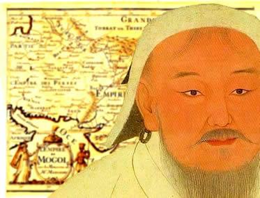 Gêngis Khan foi o líder político-militar responsável pela formação do Império Mongol.