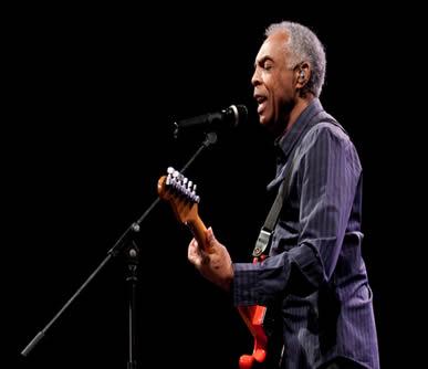 Gilberto Gil fez parte do movimento musical Tropicália*
