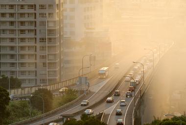 A poluição urbana é um grave problema ambiental