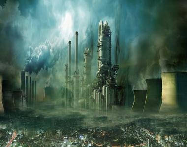 A poluição das grandes cidades ocorre graças às atividades econômicas extrativistas e industriais