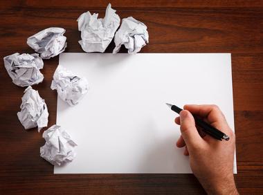 A reescrita de textos é o exercício ideal para quem quer aprender com os próprios erros