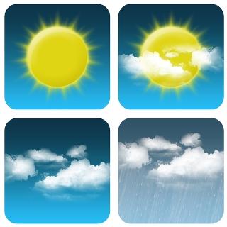Os climas possuem vários elementos determinados por inúmeros fatores