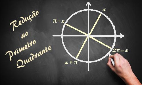 Aprenda a reduzir um ângulo ao primeiro quadrante dentro do ciclo trigonométrico