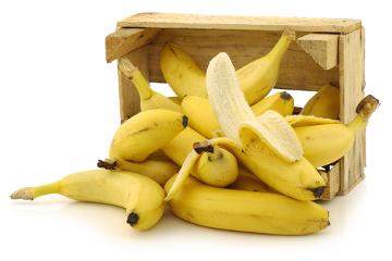 As bananas são alimentos ricos em potássio