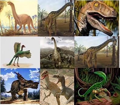 Os dinossauros começaram a habitar a Terra há cerca de 208 milhões de anos