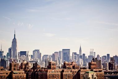 Nova York, um exemplo de cidade global de elevada importância na hierarquia urbana mundial