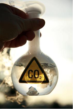 As forças intermoleculares entre as moléculas de gás carbônico explicam a sublimação do gelo-seco