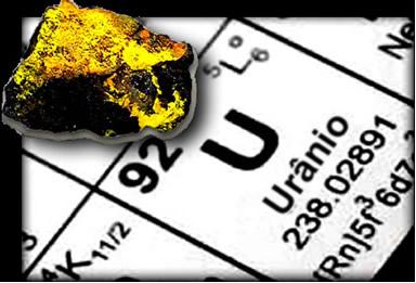 O urânio não é o único emissor de radiação em seu minério, pois ele dá origem a outros elementos que fazem parte de sua série ou família radioativa