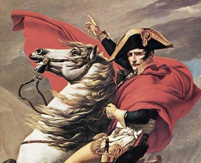 A ascensão de Napoleão Bonaparte foi apoiada por um numeroso e devotado exército