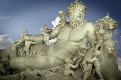 A origem dos deuses e heróis da mitologia grega foi retratada na Teogonia de Hesíodo