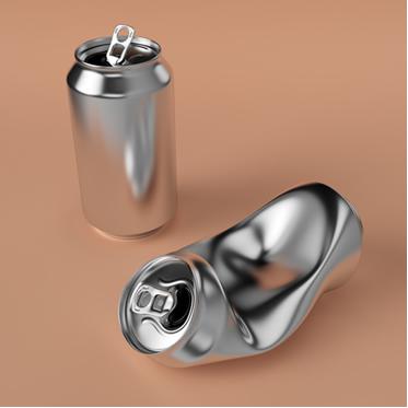 Veja como uma lata pode ser amassada com água