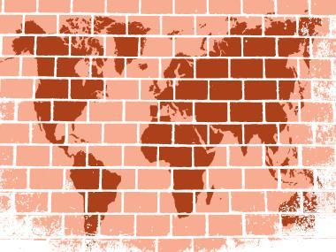 Os muros proliferam-se nas fronteiras políticas e atuais do mundo
