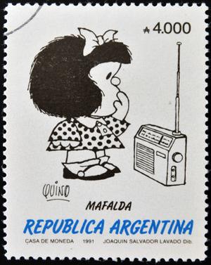 Em 2014, a menina mais politizada da América Latina, a argentina Mafalda, completa cinquenta anos de existência
