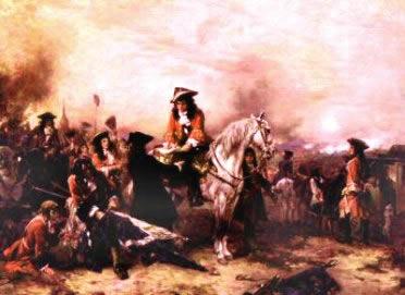 A Guerra de Sucessão provocou um abalo no equilíbrio político europeu.