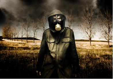 A chuva ácida traz grandes prejuízos à natureza e ao próprio ser humano
