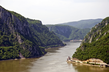 Rio Danúbio na Sérvia