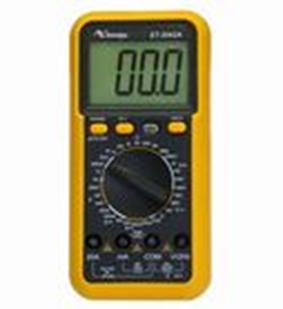 O multiteste também é conhecido como multímetro e pode medir tanto correntes elétricas como também resistência e tensão elétrica
