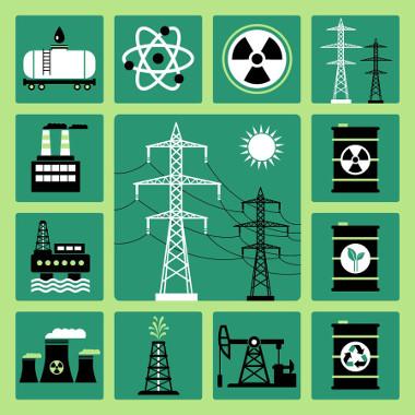As fontes de energia não renováveis envolvem os combustíveis fósseis e os nucleares