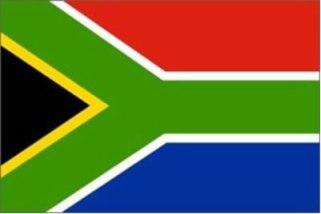 Bandeira da África do Sul.