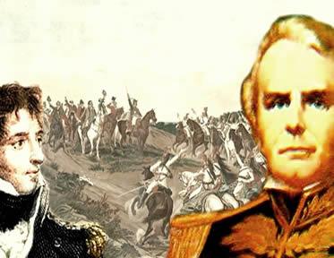 A ação dos mercenários ingleses foi fundamental para que a independência fosse assegurada.