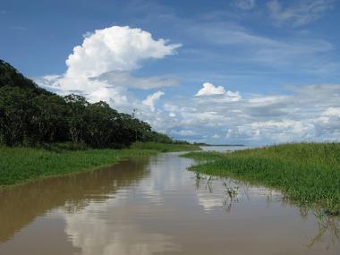 O Aquífero integra os recursos hídricos da Amazônia.
