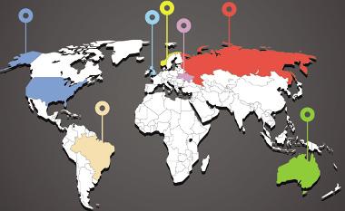 Os mapas são formas de linguagem e possuem diferentes elementos para a sua comunicação