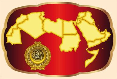 Mapa do Mundo Árabe
