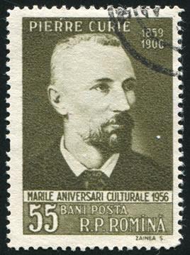 Pierre Curie, físico francês que fez estudos sobre a influência da temperatura sobre a imantação.*