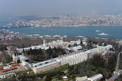 A cidade de Constantinopla, atual Istambul, foi o centro do Império Romano do Oriente