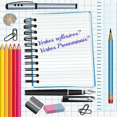 Características específicas diferem os verbos reflexivos dos verbos pronominais